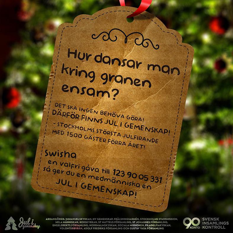 Jul i gemenskap insamling